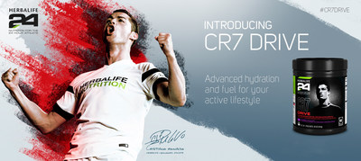 Herbalife Unveils New Sports Drink with Global Soccer Star Cristiano Ronaldo.