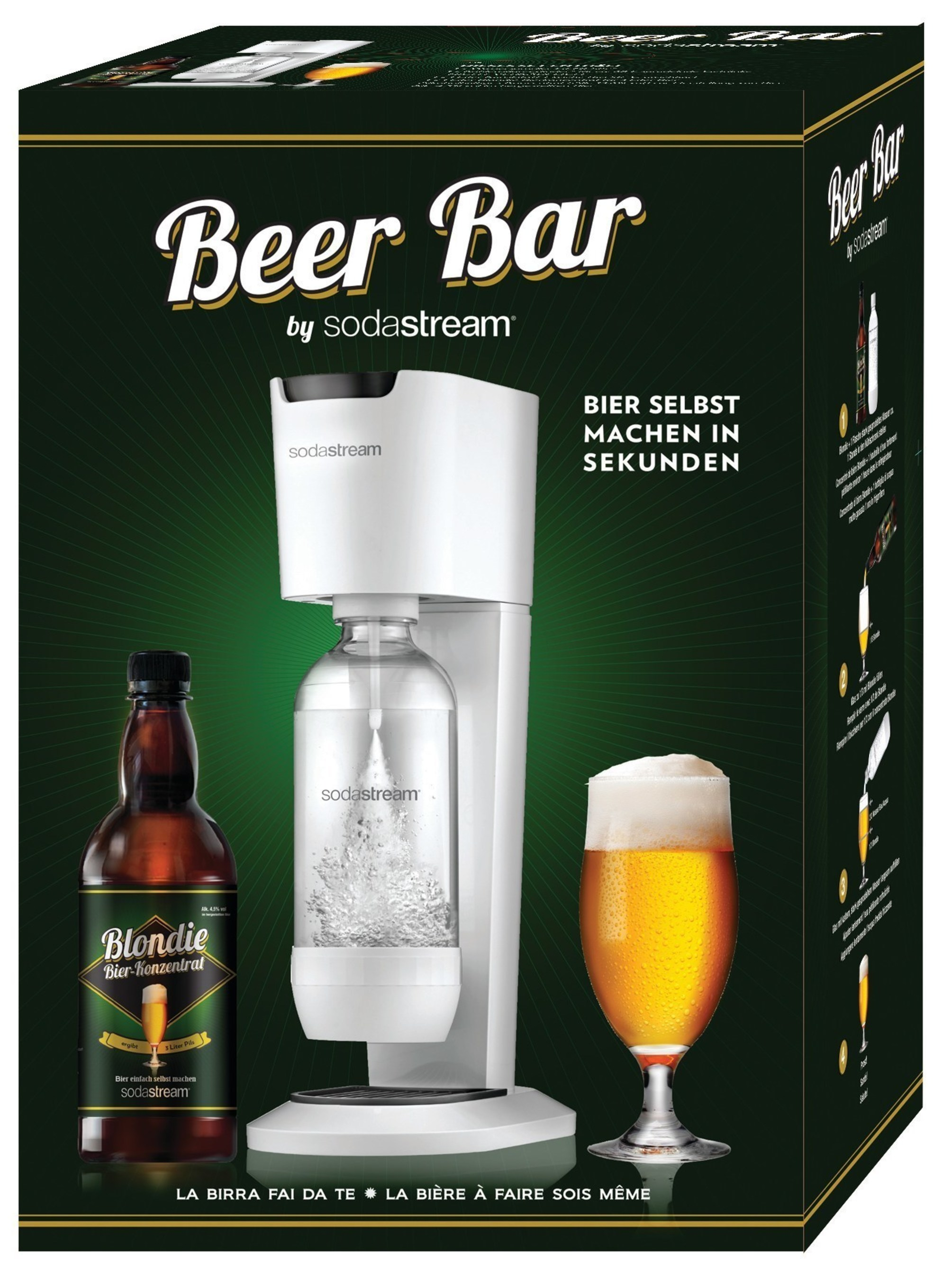 SodaStream launches its new homemade beer system, the Beer Bar