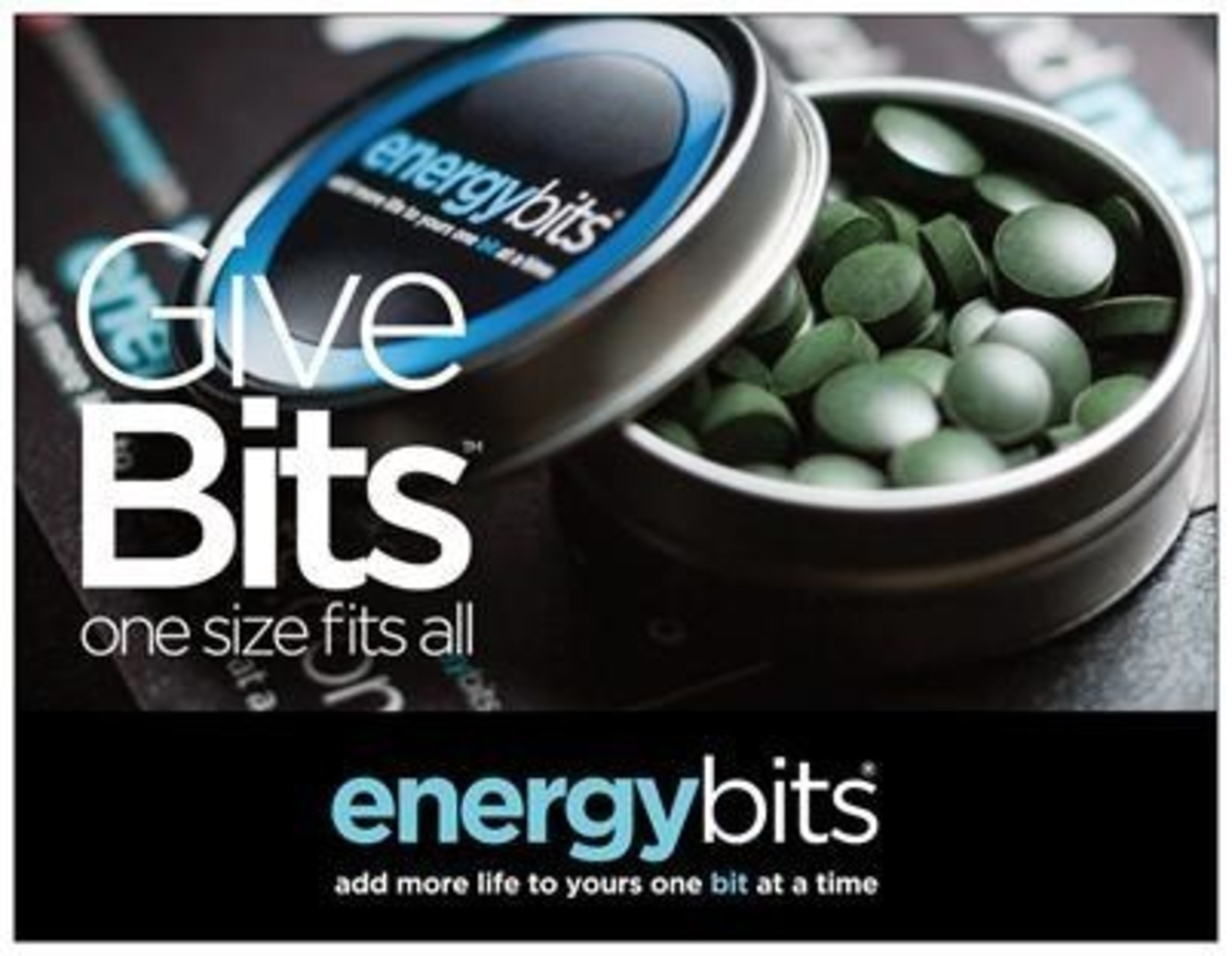 For a gift that fits, give bits - ENERGYbits