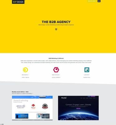 Bop Design Reveals New Web Design