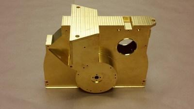James Webb Space Telescope Titanium Filter-Wheel Housing for NIRCam
