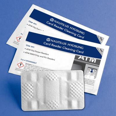 Authorized Nautilus Hyosung Waffletechnology(R) ATM Cleaning Card