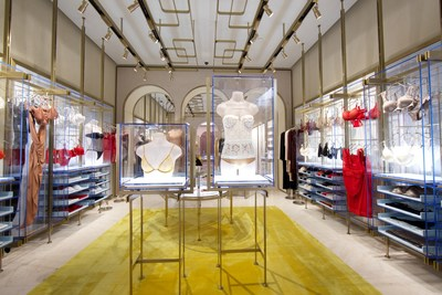 La Perla South Coast Plaza Boutique Interior