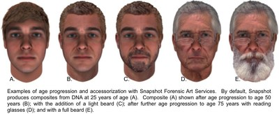 Snapshot Enhanced Forensic Art Composite