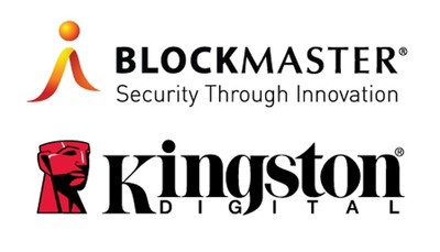 BlockMaster and Kingston today announced a partnership to provide centrally-managed Secure USB Flash drives.  (PRNewsFoto/Kingston Digital, Inc.)