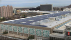Unirac and Bella Energy Complete Milestone Solar Project on Salt Palace Convention Center in Salt Lake City, UT.  (PRNewsFoto/Unirac, Inc.)