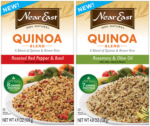 Near East(R) Launches New Quinoa Blend Products Giving Grains a Global Twist.  (PRNewsFoto/Near East)