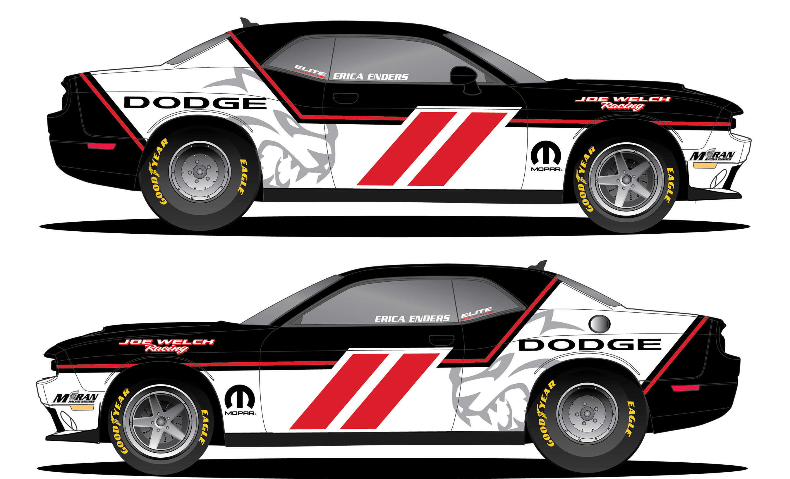 Mopar to Highlight Sportsman Racing Pro Drivers Positioning for