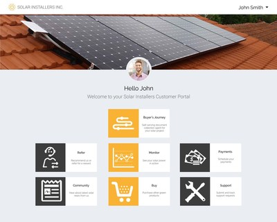 Solar industry's first Customer Portal to simplify solar buying
