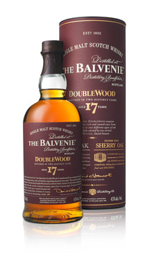 The Balvenie Launches 17 Year Old DoubleWood to Celebrate Malt Master's 50th Anniversary.  (PRNewsFoto/The Balvenie)