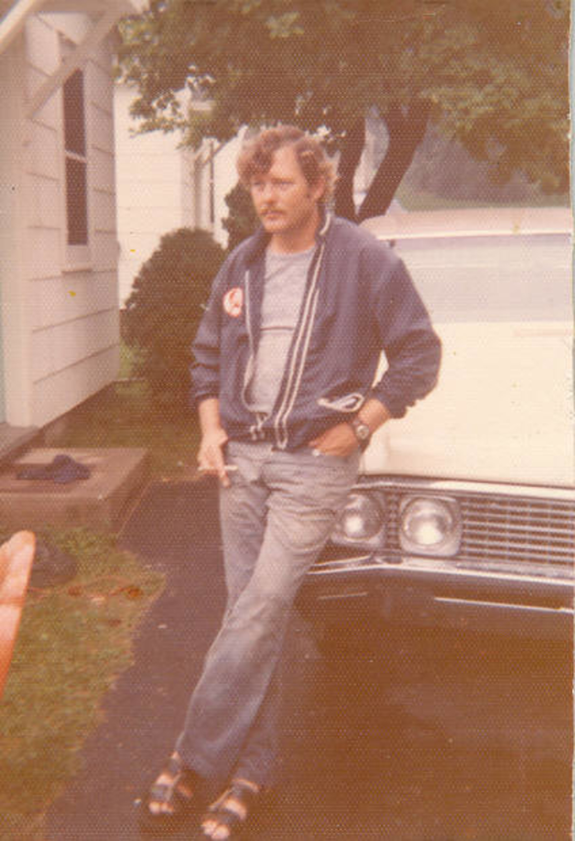 A young John Fischer in his hometown Dixon, Illinois.