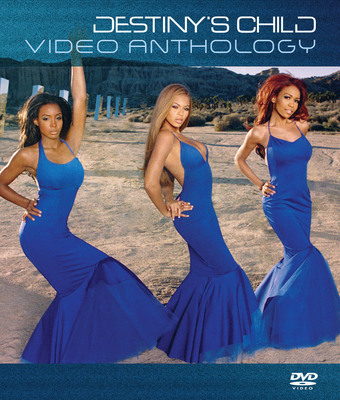Cover art for VIDEO ANTHOLOGY by Destiny's Child.  (PRNewsFoto/Legacy Recordings)