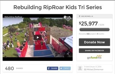 Rebuilding RipRoar Kids Tri Series, https://www.gofundme.com/j4pnfegk