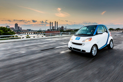 car2go arrives in Minneapolis, Minnesota.  (PRNewsFoto/car2go North America LLC)