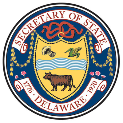 Delaware Department of State logo.  (PRNewsFoto/The Delaware Secretary of State's Office)