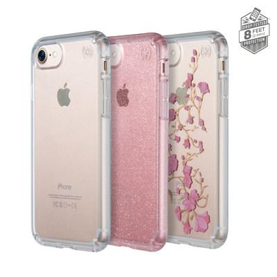 Presidio CLEAR, Presidio CLEAR + GLITTER and Presidio CLEAR + PRINT for iPhone 7