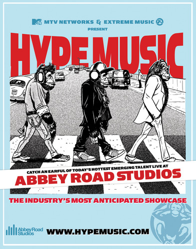 Hype Music Unveils A Red Hot Roster of Emerging Talent at Abbey Road the World's Most Famous