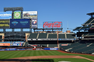 PRO PLAYER sign at Citi Field, New York.