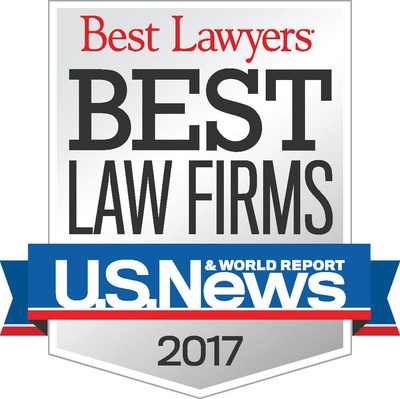 Top New York Personal Injury Law Firm Gair, Gair, Conason, Rubinowitz, Bloom, Hershenhorn, Steigman & Mackauf listed in  6 practice areas in the Best Law Firms 2017 rankings by US News and Best Lawyers