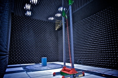 LSR's new state-of-the-art 5-meter EMC chamber will provide comprehensive testing of wireless products to certify compliance with FCC, IC, and CE standards. (PRNewsFoto/LS Research)