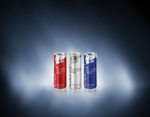The Red Bull Editions, available nationwide, provide the energy and effect of Red Bull with the taste of cranberry, lime and blueberry.  For the first time in Red Bull's 15 years in the U.S., the company is introducing an alternative to their well-known flavor.  (PRNewsFoto/Red Bull North America)