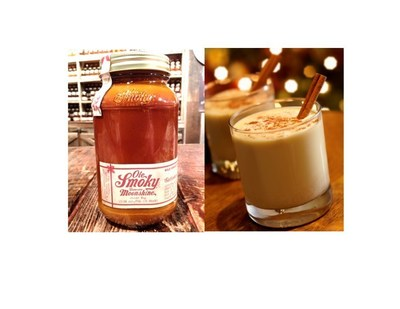 TOP SELLING HOLIDAY FLAVOR SHINE NOG BROUGHT BACK BY OLE SMOKY(R) TENNESSEE MOONSHINE