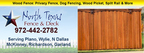 North Texas Fence and Deck builds quality, custom wood fences in Richardson, TX.  (PRNewsFoto/North Texas Fence & Deck)