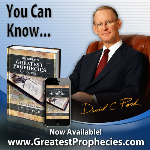 This eye-opening book, filled with facts, evidence, statistics, proof and the plain truth of Scripture, is utterly different from all other books on this increasingly popular subject. Visit  www.GreatestProphecies.com.  (PRNewsFoto/The Restored Church of God)