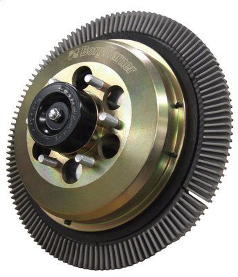 Designed to deliver reliable cooling for off-highway and vocational vehicle applications, BorgWarner's new DuroSpeed(TM) 2-speed fan drive significantly reduces fan engagements for less noise and longer durability. For quick upgrades, the modular design allows any BorgWarner Kysor(R) on/off fan drive to be easily converted to a DuroSpeed fan drive.