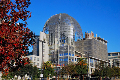 The San Diego Central Library.