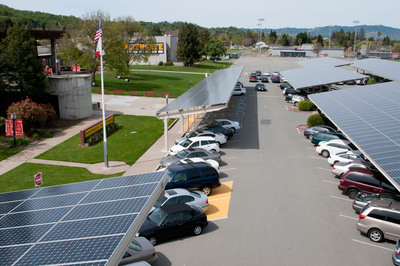Mt Diablo USD Saves $220M with SunPower Solar System; Largest School District Solar System.  (PRNewsFoto/SunPower Corp.)
