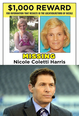 ESPN analyst Steve Young's cousin, Nicole Coletti Harris, went missing October 24, 2015, and Young and his family are seeking leads to help bring her home safely.