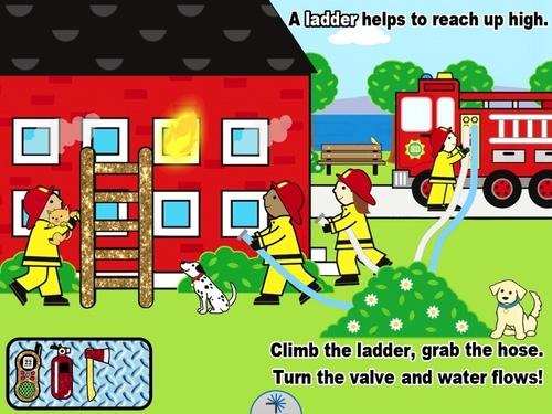 Pretend and Play: Firefighter  (PRNewsFoto/Silver Dolphin Books)