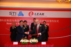 Pictured in front row left to right:  Yuanfa Guan, chairman of Science and Technology Innovation Group and Jay Kunkel, Lear president of Asia-Pacific operations.  Pictured left to right in second row are:  Tan Bin, Yangpu vice deputy mayor, Zhuge Yujie, Yangpu party secretary, Carsten Pfuhl, Lear Asia chief financial officer, and Kevin Burke, Lear vice president of human resources.