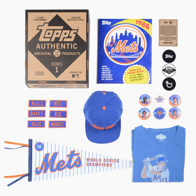 Topps Archive Collections are inspired by the greatest teams and most memorable moments in America's national pastime. This limited edition collection is a must-have for all true Mets fans. View more at Topps.com.(PRNewsFoto/The Topps Company, Inc.)