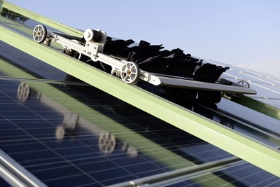 Ecoppia's automated and waterless technology is increasingly in demand as the solar industry matures. (PRNewsFoto/Ecoppia) (PRNewsFoto/Ecoppia)