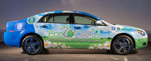 EcoCAR 2 participants will use a Chevrolet Malibu, donated by General Motors, as the basis for their entries in  ...