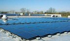 Solar panels at L'Oreal USA's Piscataway facility
