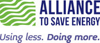 ALLIANCE TO SAVE ENERGY LOGOAlliance to Save Energy logo. (PRNewsFoto/Alliance to Save Energy)WASHINGTON, DC UNITED STATES