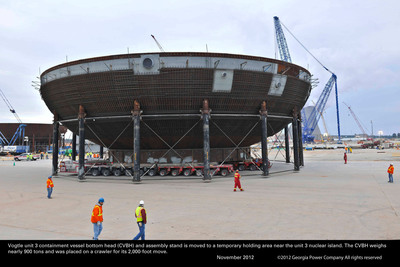 The Vogtle 3-4 project is the first new nuclear construction in the U.S. in 30 years.  (PRNewsFoto/Georgia Power Co.)