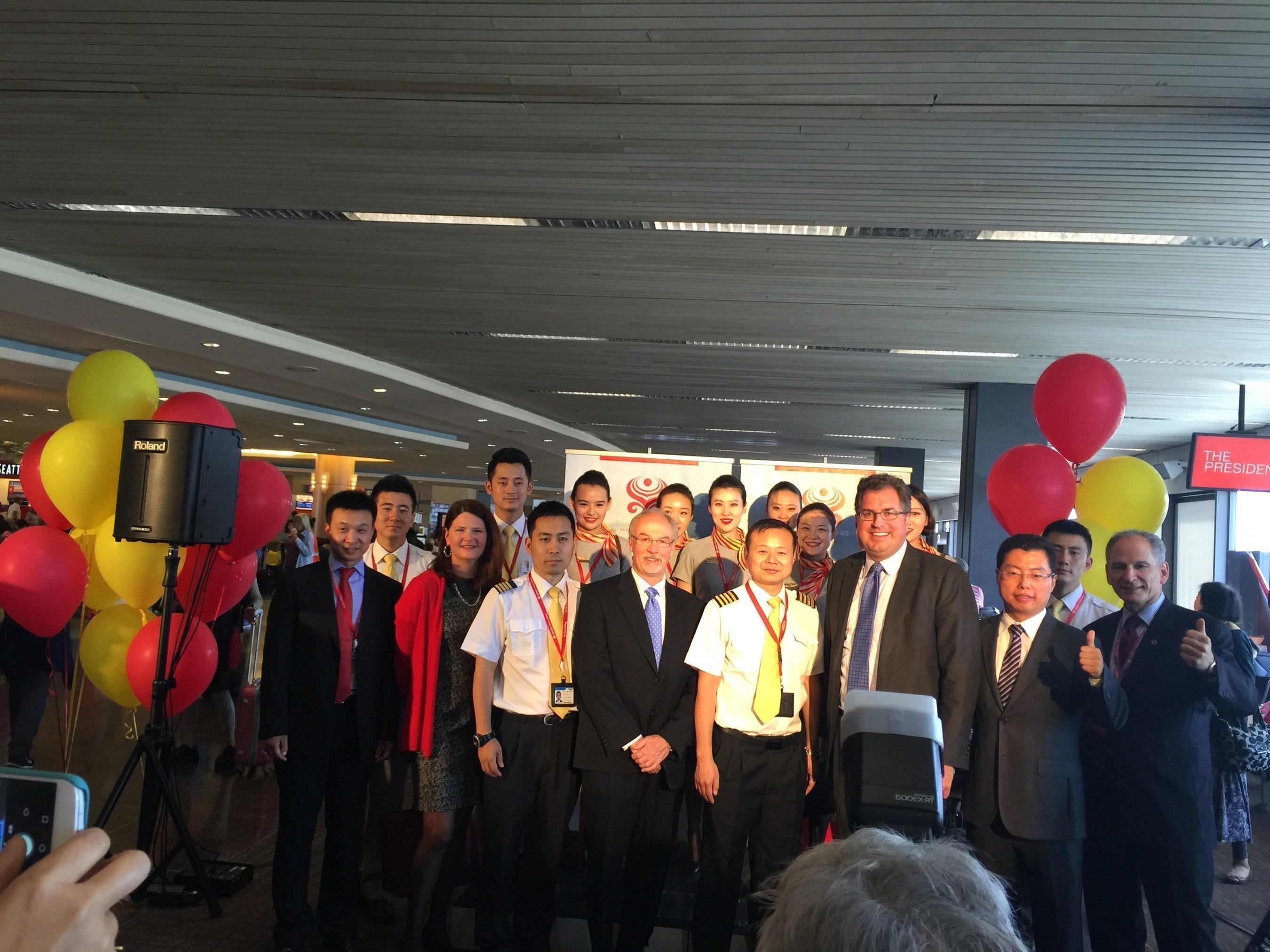Hainan Airlines eröffnet Verbindung für Hin- und Rückflüge zwischen Shanghai und Seattle