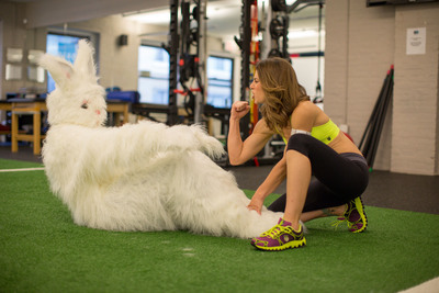 Jillian Michaels: Official Trainer of UNREAL® Candy's Easter Bunny Apology Tour
