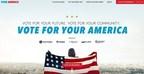 Univision lanza innovadora campaña de participación de votantes: Vota por tu América