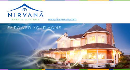 Empower your Home.  (PRNewsFoto/Nirvana Energy Systems, Inc.)