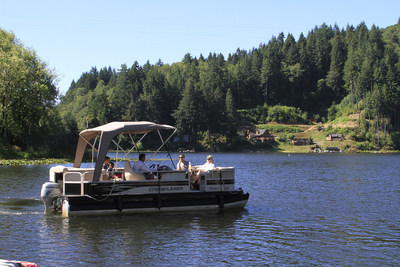 Loon Lake Lodge and RV Resort has an on-site Marina for rentals of all types of boats, paddle boards and jet skis. (PRNewsFoto/Loon Lake Lodge and RV Resort)