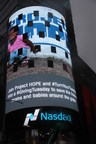 Blackbaud is takes over the Nasdaq tower at Times Square to promote what its customers are doing for #GivingTuesday. Your dollars help Project HOPE drive humanitarian assistance around the world.