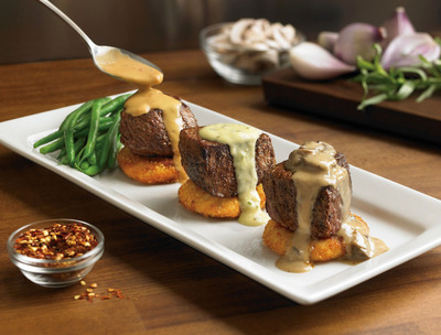 OUTBACK STEAKHOUSE(R) TAKES GUESTS ON A TASTE BUD ADVENTURE WITH NEW STEAK FLIGHTS(R). Outback offers NEW way to explore flavors with 50 possible combinations, for a limited time starting at 10.99.