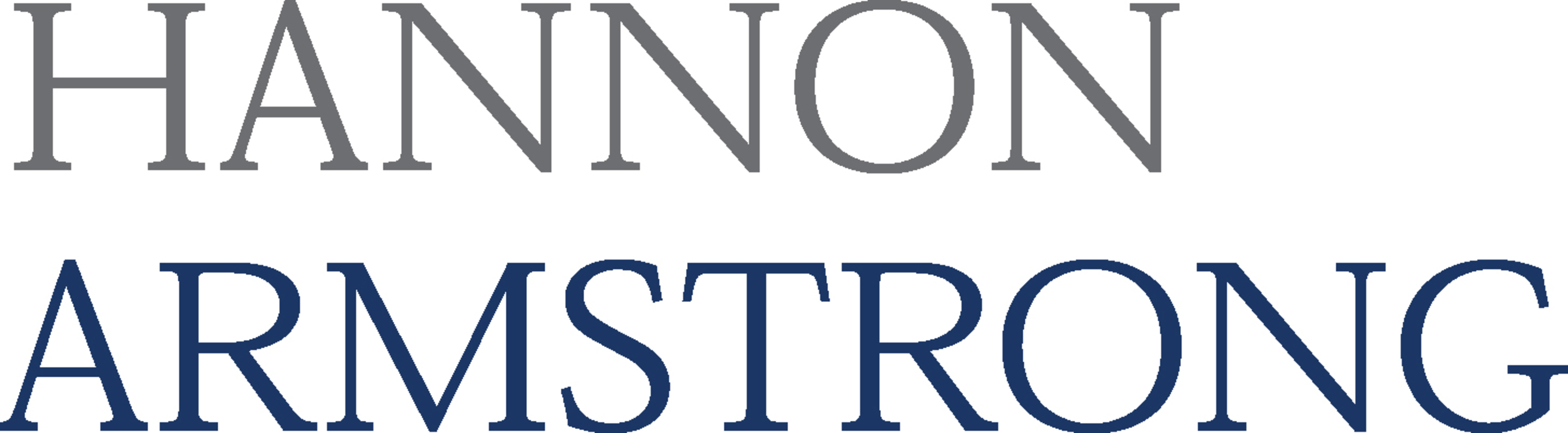 Hannon Armstrong Sustainable Infrastructure Logo.