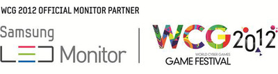 World's Largest Gaming Festival, World Cyber Games 2012, names Samsung as official monitor partner for WCG 2012.  (PRNewsFoto/World Cyber Games)