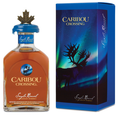 Caribou Crossing Single Barrel Canadian Whisky Is An Ideal Father's Day Gift.   (PRNewsFoto/The Sazerac Company)